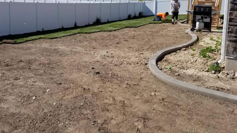 Concrete Curbing Installations
