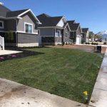 Operational lawn sprinklers