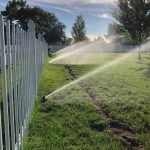 A properly installed lawn sprinkler system