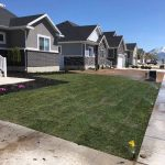 Photo of new sod installation completed by S&S Sprinklers